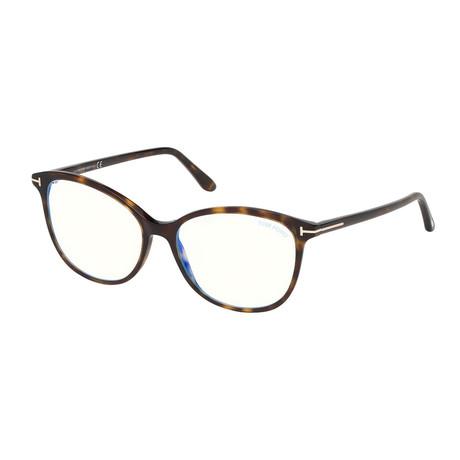 Women's Cat Eye Blue Light Blocking Glasses // Havana