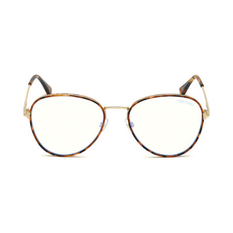 Men's Pilot Blue Light Blocking Glasses // Tortoise + Light Gold