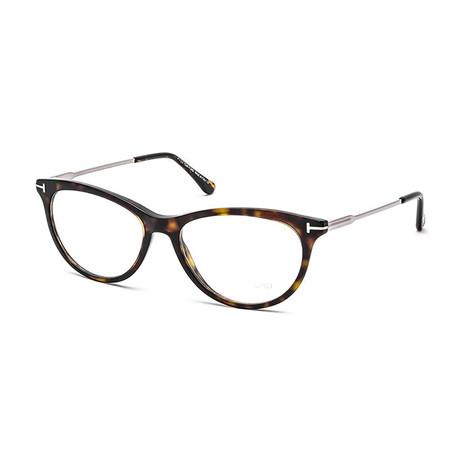 Women's Cat Eye Optical Frames // Dark Havana