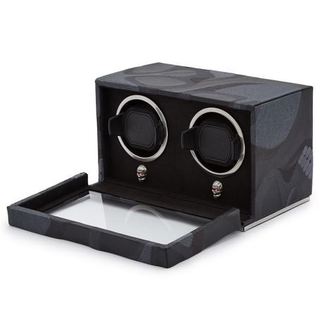 Memento Mori // Double Cub Watch Winder (Black)