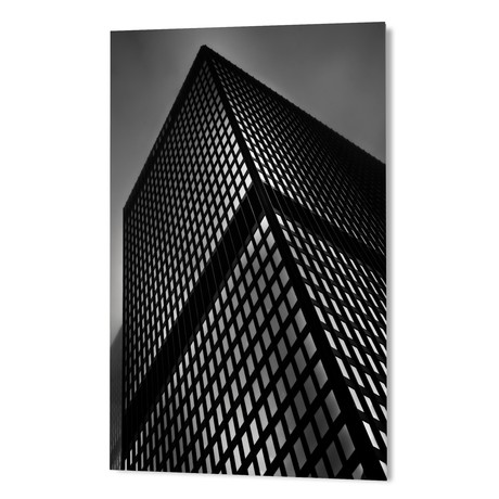 "Downtown Toronto Fogfest No 18 (16""W x 24""H x 1.5""D)"