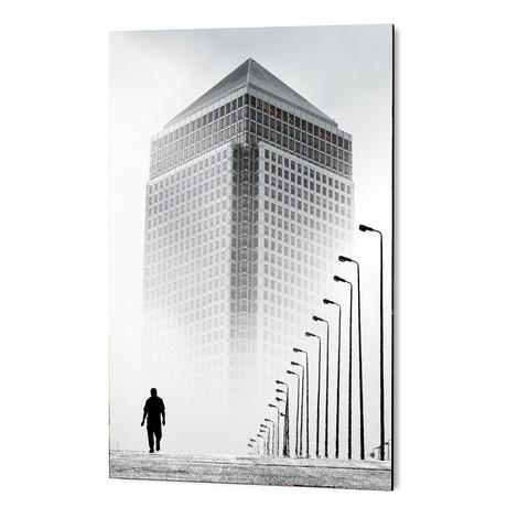 """Alone In The City // GEN Z (16""""W x 24""""H x 1.5""""D)"""