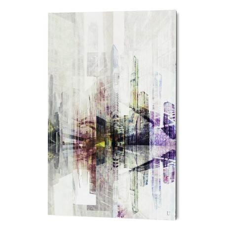 """Abstract point of view ... (16""""W x 24""""H x 1.5""""D)"""
