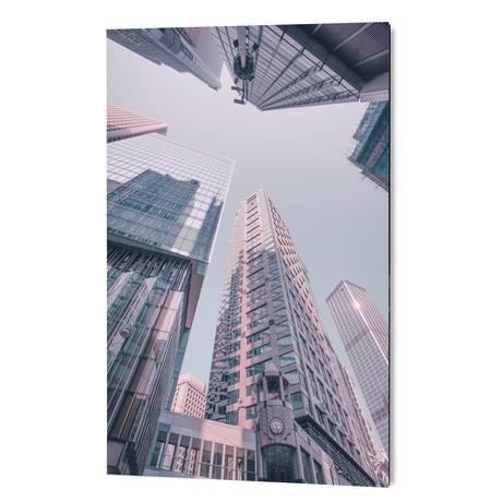 """Hongkong Skyscraper (16""""W x 24""""H x 1.5""""D)"""
