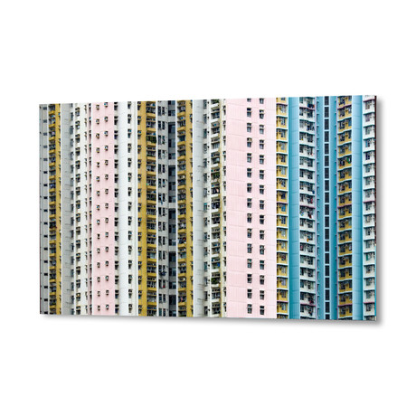 "Urban Architecture (16""W x 24""H x 1.5""D)"