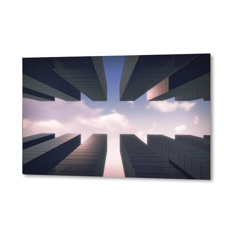 "Skyscrapers (16""W x 24""H x 1.5""D)"