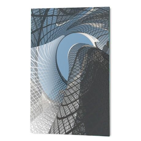 "Contemporary Architecture (16""W x 24""H x 1.5""D)"