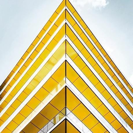 """London Architecture Art (16""""W x 24""""H x 1.5""""D)"""
