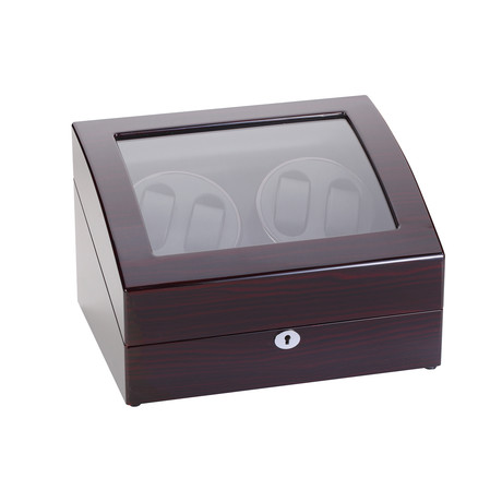 Quad Watch Winder // Ebony