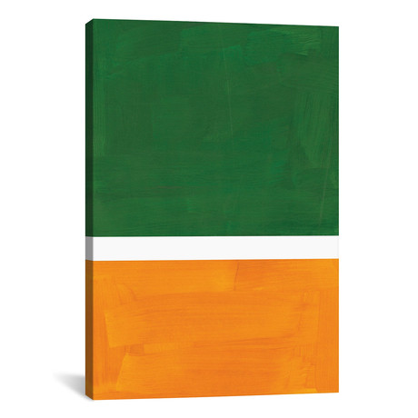 Rothko Remake Hunter Green Gold // EnShape
