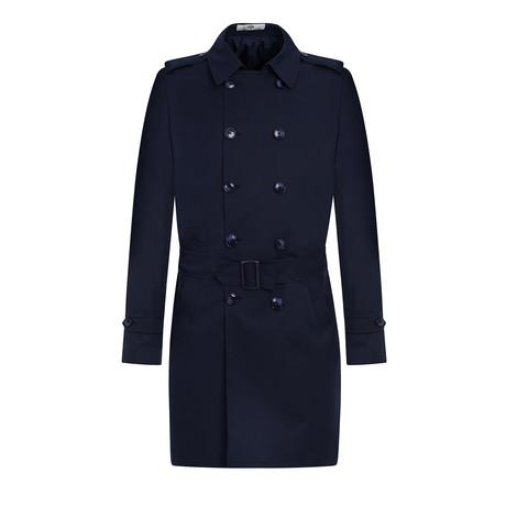 Gael Down Coat // Dark Navy Blue (46)