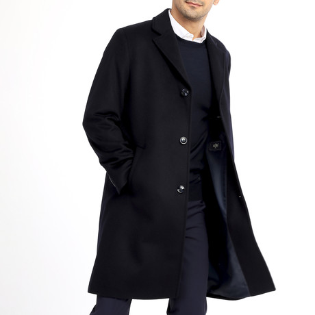 Dove Coat // Dark Navy Blue (54)