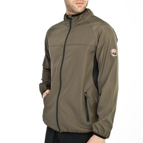 Mountain Explorer Jacket // Khaki Green (Small)