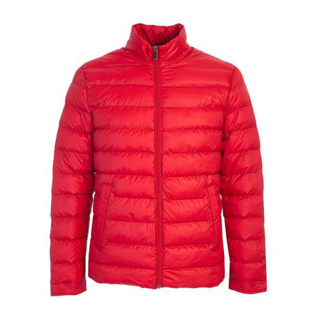 Munich Down Jacket // Dark Red (48)
