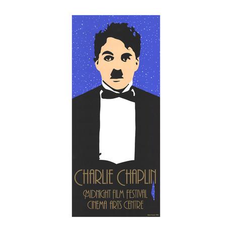 Robert Francis // Charlie Chaplin // 1984 Serigraph