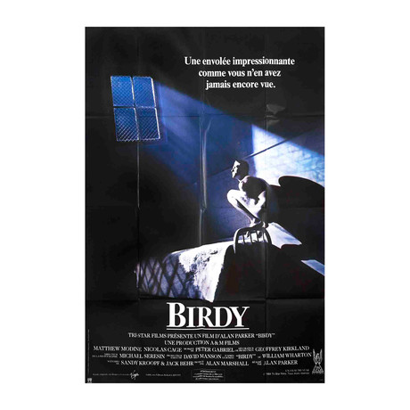 Birdy (FOLDED) // 1984 Offset Lithograph