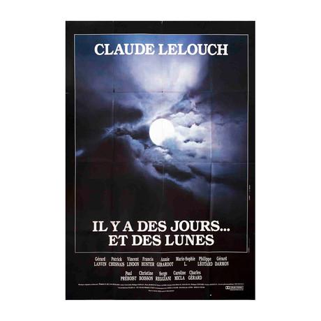 Il Y a Des Jours... Et Des Lunes // 1990 Offset Lithograph