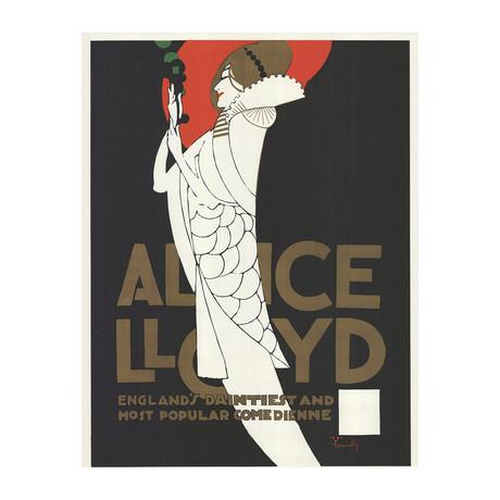 Alfonso Iannelli // Alice Lloyd // 1969 Serigraph
