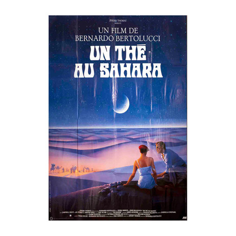 Un The au Sahara (FOLDED) // 1990 Offset Lithograph