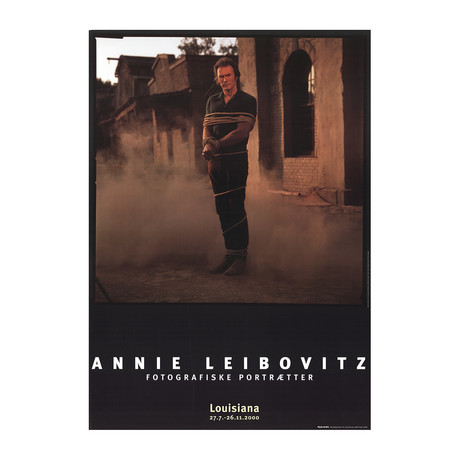 Annie Leibovitz // Clint Eastwood // 2000 Offset Lithograph