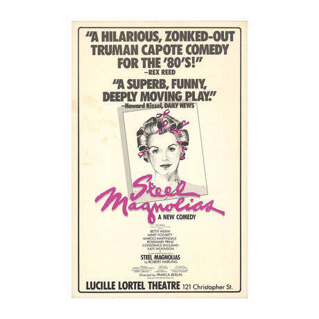 Steel Magnolias // 1987 Offset Lithograph