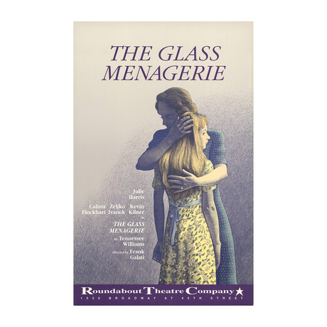 Scott McKowen // The Glass Menagerie // 1987 Offset Lithograph