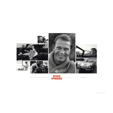 Sid Avery // Steve McQueen // Offset Lithograph