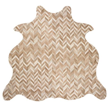 Chevron Rug // Morph // Animal Shape (5'L x 8'W)