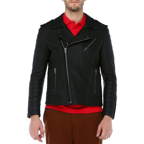 Milan Leather Jacket // Black (XS)