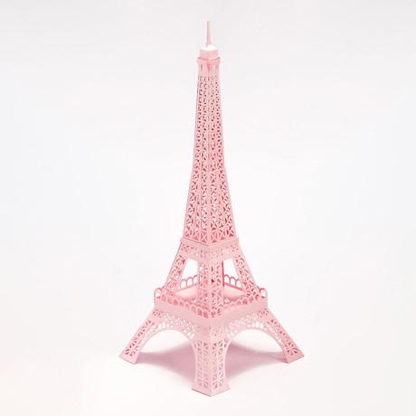 Eiffel Tower // Pink