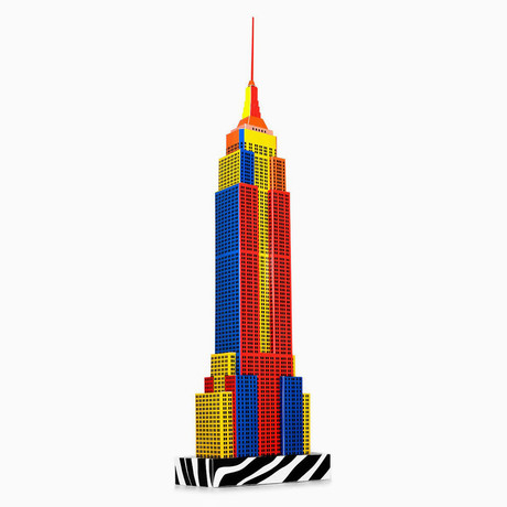 New York Skyscraper // Pop Art Edition
