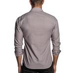 Gingham Woven Shirt // Orange + Black (S)