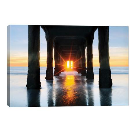 """Manhattan Beach Pier // Susanne Kremer (40""""W x 26""""H x 1.5""""D)"""
