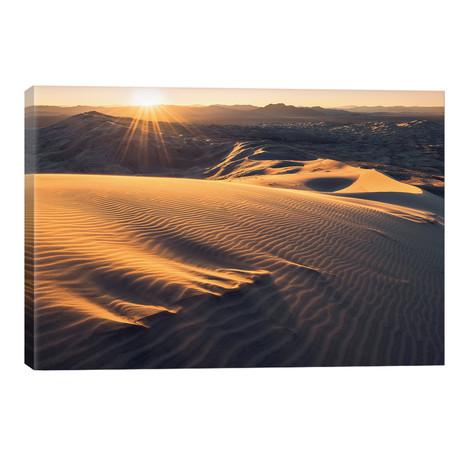 "Mojave Heights // Stefan Hefele (40""W x 26""H x 1.5""D)"