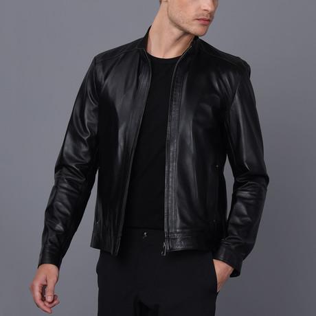 Palermo Leather Jacket // Black (2XL)