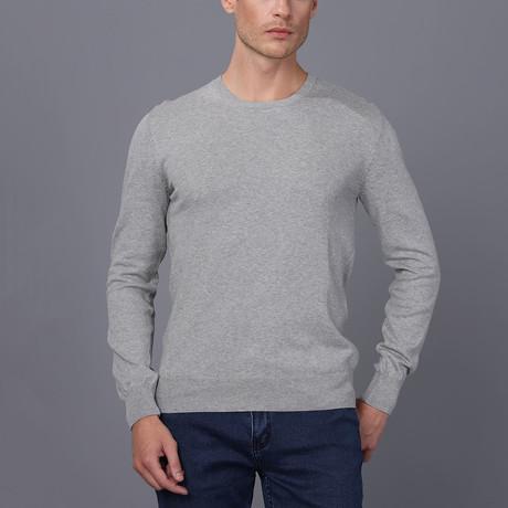Amalfi Pullover Sweater // Gray Melange (S)