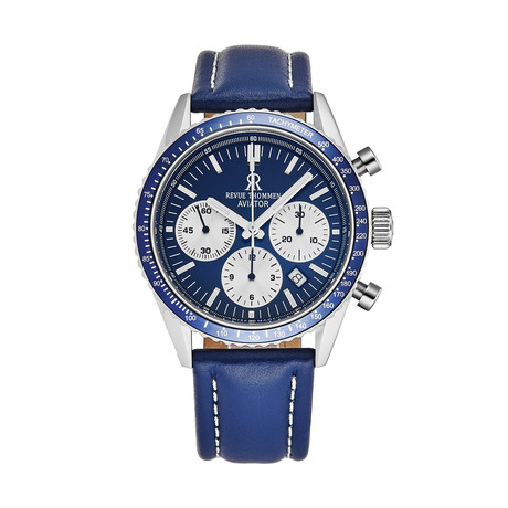 Revue Thommen Aviator Chronograph Automatic // 17000.6535 // New
