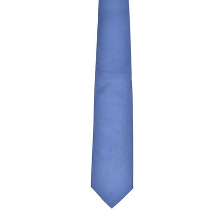 Solid Silk Tie // Light Blue