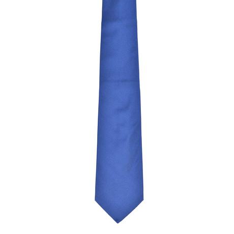 Solid Silk Tie // Cobalt Blue