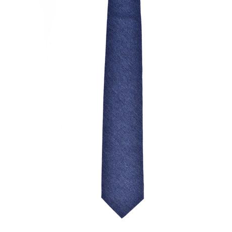 Solid Cashmere Tie // Blue