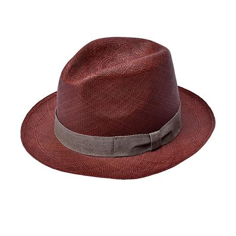 Panama Brisa Hat // Brown (IT 57 // US 7 1/8)