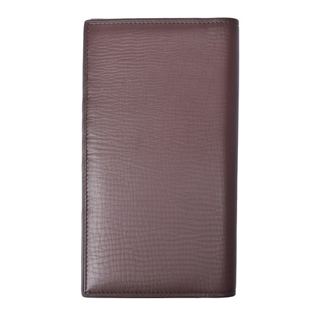 Continental Wallet // Brown
