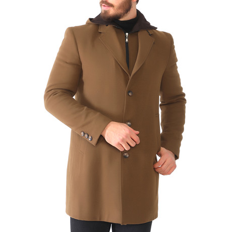 Detroit Overcoat // Camel (Size 56)