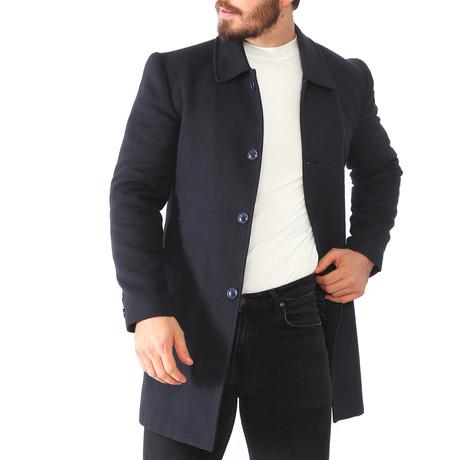 Yosemite Overcoat // Dark Blue (Medium)