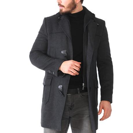 Rockford Overcoat // Anthracite (Medium)