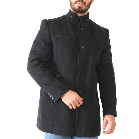 Dallas Overcoat // Anthracite (Medium)