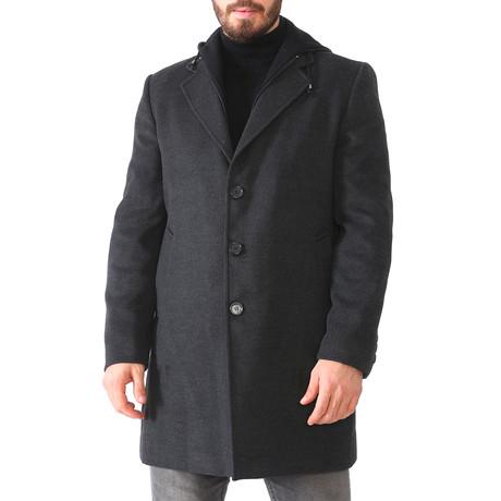 Detroit Overcoat // Anthracite (Size 56)