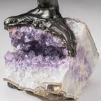 The Protection Tree // Custom Amethyst Clustered Gemstone Tree on Amethyst Matrix // V3
