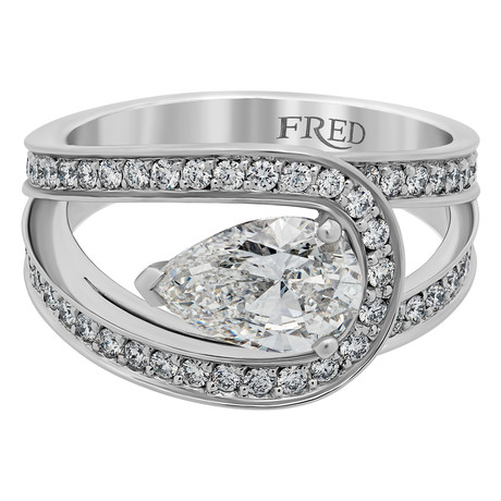 Lovelight Platinum + Diamond Ring // Ring Size 6.5
