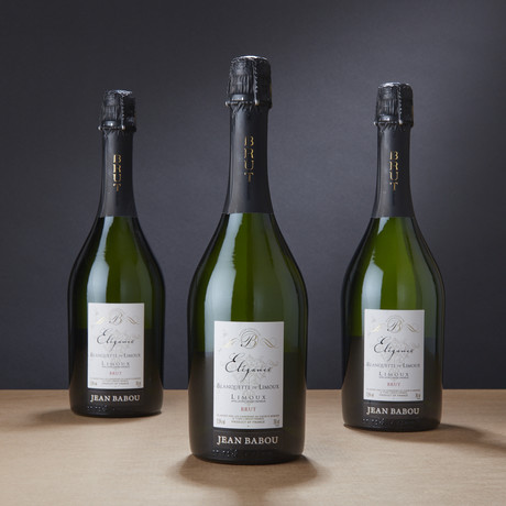 Jean Babou Elégance French Sparkling // Set of 3 // 750 ml Each